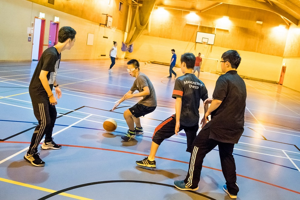 Academic Sports near Bristol UK - English course